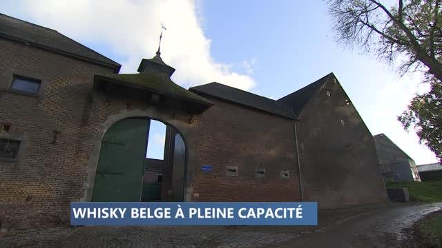 Le whisky belge à pleine capacité