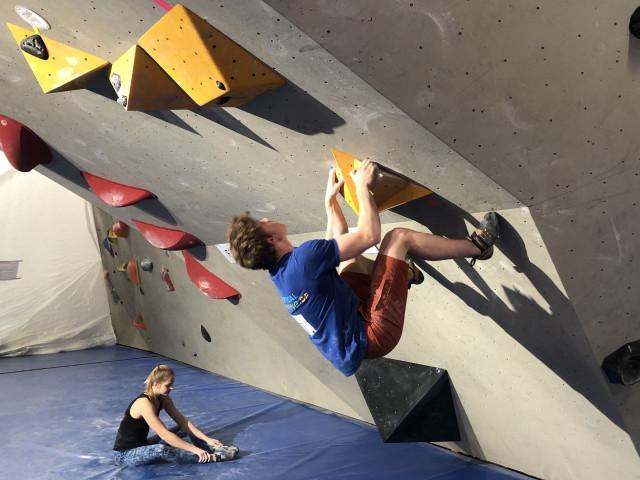 Les alpinistes qui montent, qui montent, qui montent...