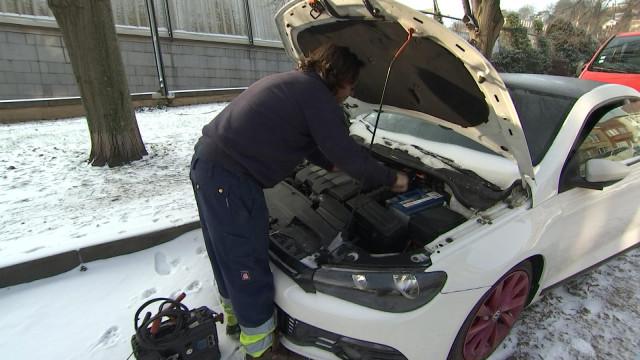 Interventions Touring Secours : les batteries sont à plat.