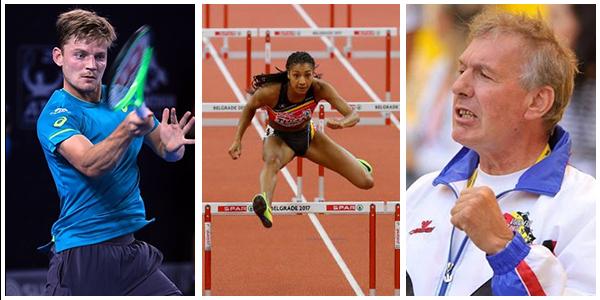 Les chances liégeoises pour le titre de Sportif (-ive) de l'Année