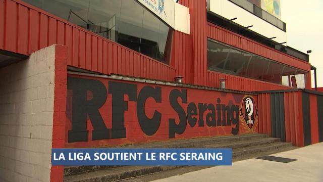 Les clubs espagnols soutiennent le RFC Seraing.
