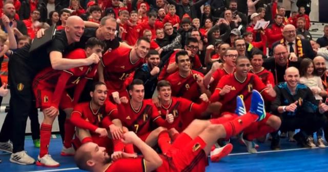 Les Diables Rouges lancent leur course à l'Euro à Liège