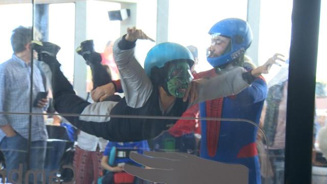 Les enfants hospitalisés de la citadelle au Fly in' !