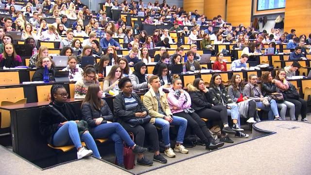 Les étudiants à la découverte d'ULiège