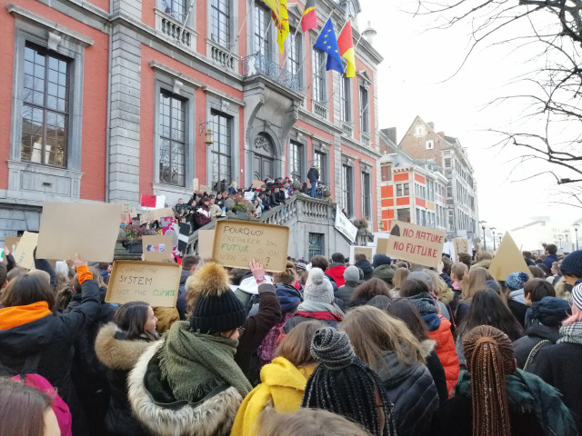 Les jeunes Liégeois mobilisés en faveur du climat