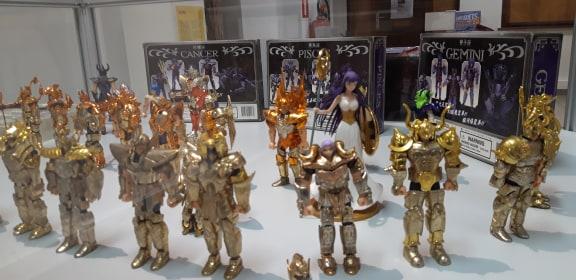 Les jouets de la pop culture s'exposent à Chaudfontaine
