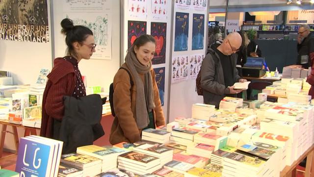 Les Liégeois à la Foire du Livre de Bruxelles