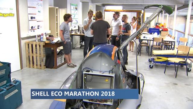 Les Liégeois se distinguent au Shell Eco Marathon