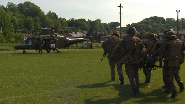 Les para-commandos en formation sur le territoire