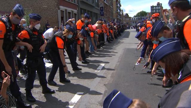 Colère des policiers liégeois contre le bashing !