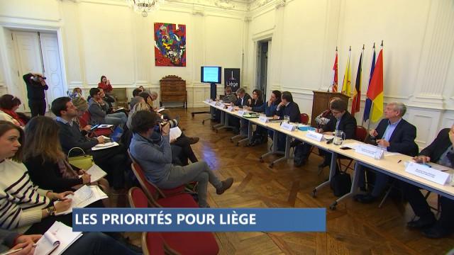 Les priorités pour Liège !