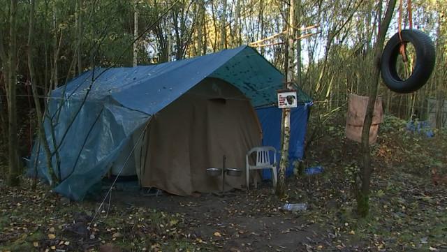 Un camp de sans-abri pas comme les autres !