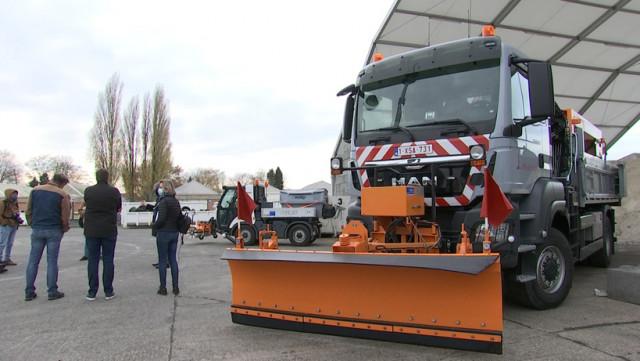 Liège: Les services d'épandage sont prêts pour l'hiver.