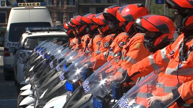 Les sirènes en hommage aux policières assassinées en 2018