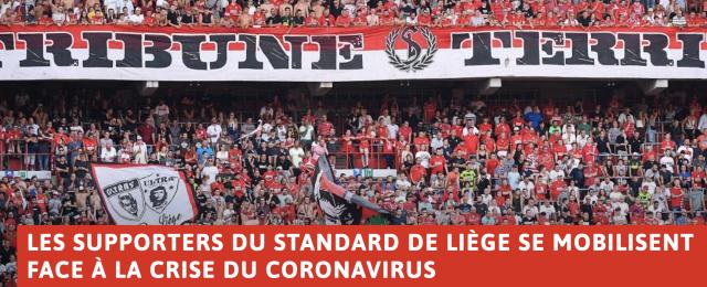 Les supporters du Standard appellent aux dons
