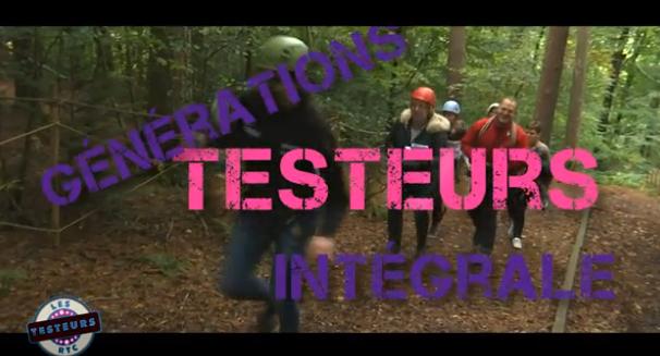 Les testeurs GénérationS: L'intégrale