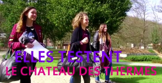 Les testeurs : Le chateau des thermes de Chaudfontaine (1/4)