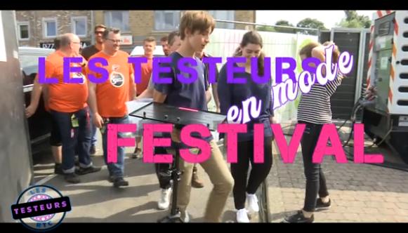 Les testeurs: Nandrin festival (l'intégrale)