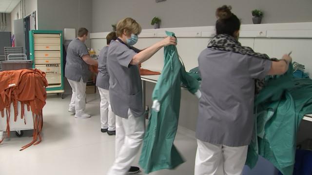 Les travailleurs de l'ombre de l'hôpital MontLégia bientôt vaccinés