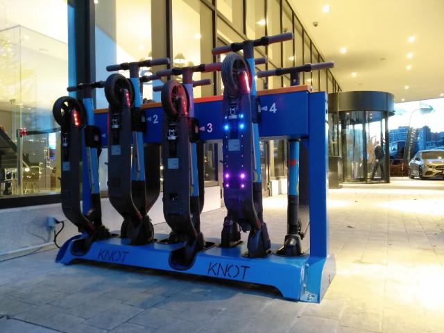 Les trottinettes électriques sur station arrivent à Liège