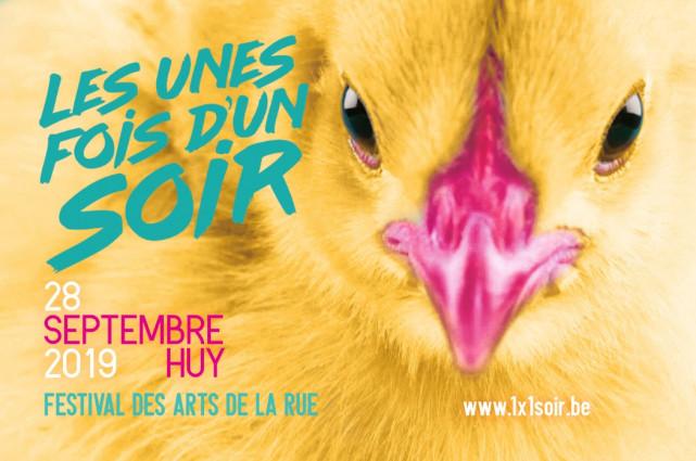 Les unes fois d'un soir, festival des arts de la rue à Huy
