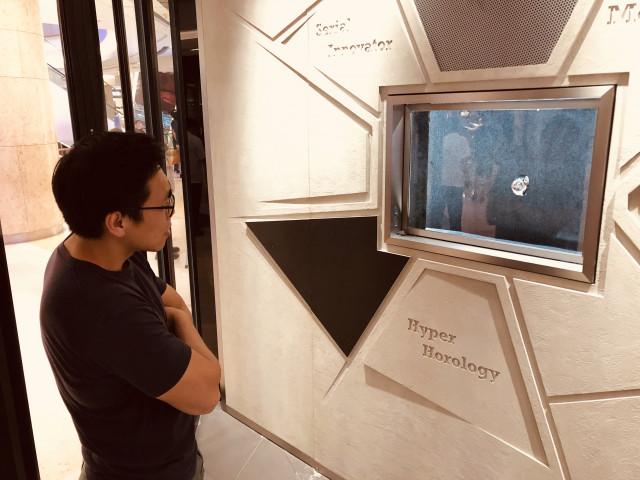 Lévita : la vitrine vraiment magique conçue par deux Liégeois