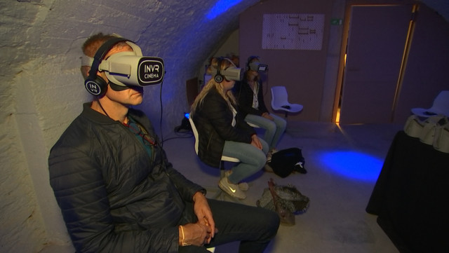 Liège: la réalité virtuelle à la portée de tous