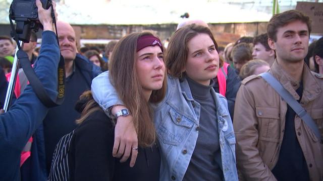 Liège : 11ème marche nationale des jeunes pour le climat