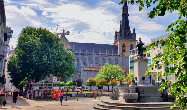 Liège : extension du piétonnier Cathédrale dès le 26 juin 2020