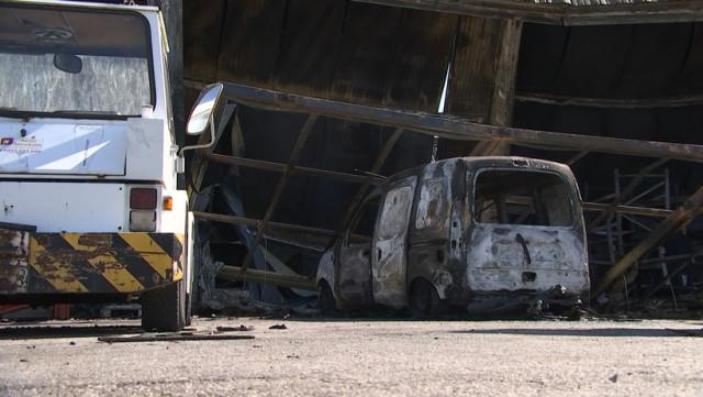 Liège Airport : après l'incendie d'un hangar