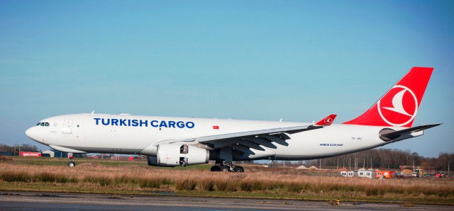 Liege Airport : Turkish Cargo débarque