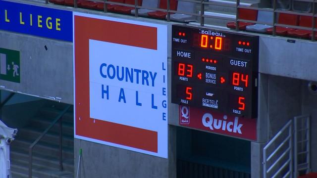 Liège Basket: défaite à la dernière seconde
