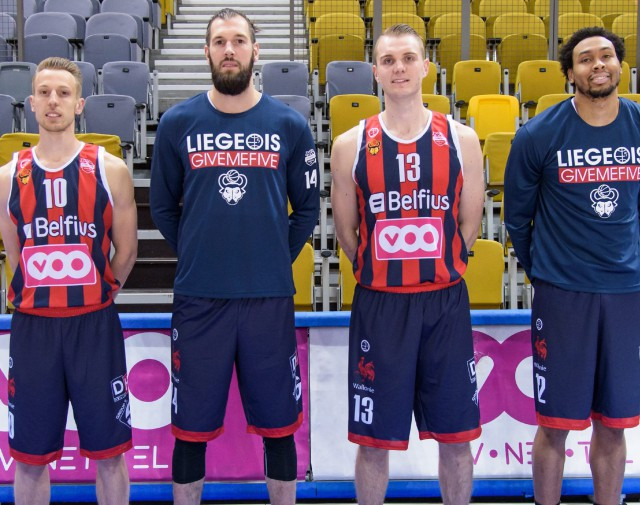 Liège Basket, en sang et marine, encaisse une nouvelle défaite