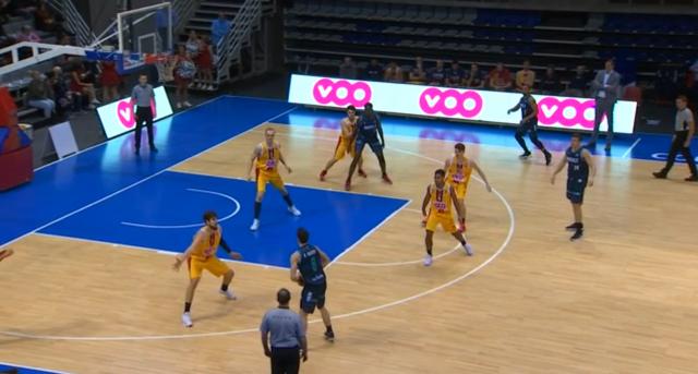Liège Basket giflé par le Brussels