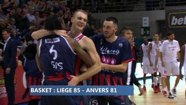 Liège Basket : victorieux contre les Giants d'Anvers