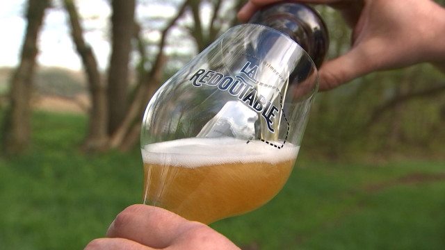 La Redoutable, une bière en l'honneur de la côte de la Redoute !