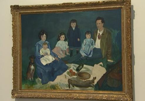 Liège chefs d'oeuvre: La famille Soler (Pablo Picasso)