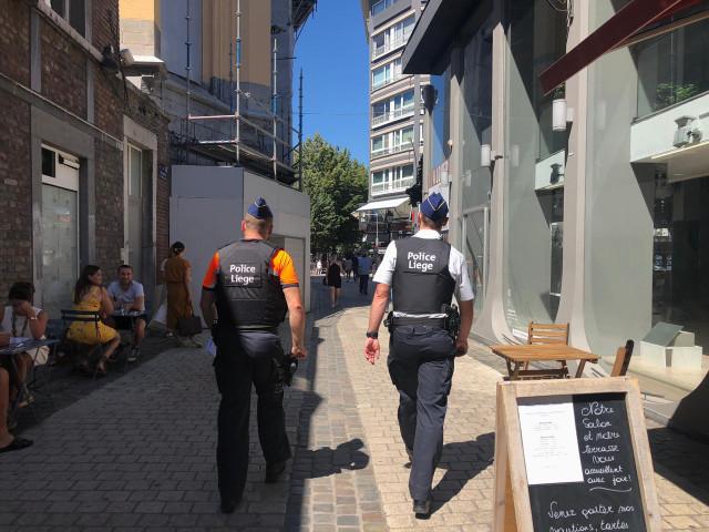Liège : consignes covid plutôt bien respectées, une moyenne de 35 PV ce week-end