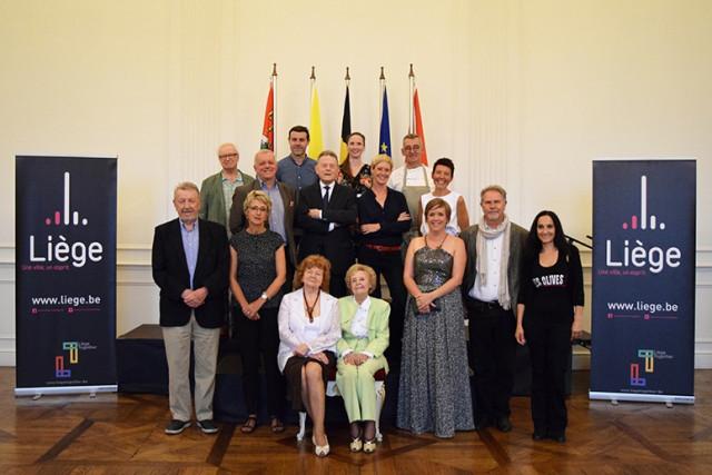 Liège:  les citoyens d'honneur 2018