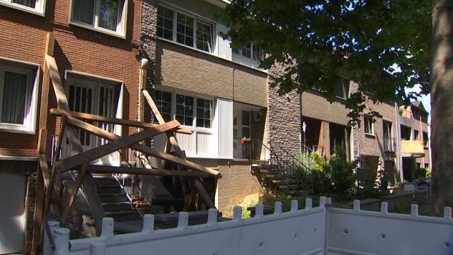 Liège : des maisons évacuées suite à un affaissement