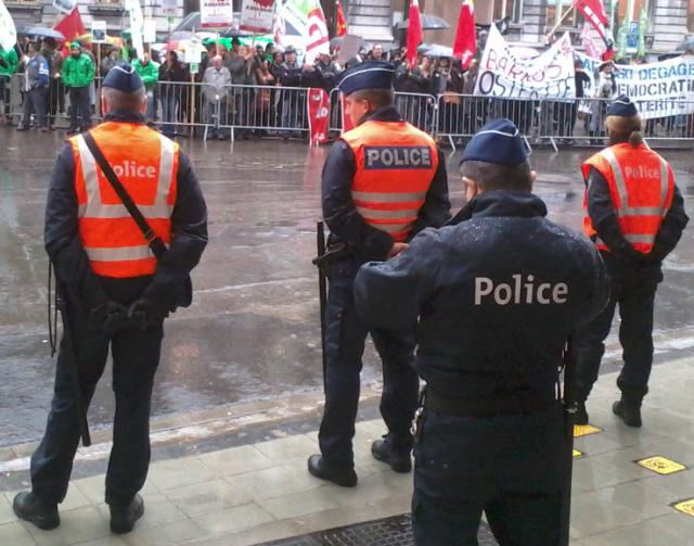 Liège : des policiers absents par solidarité