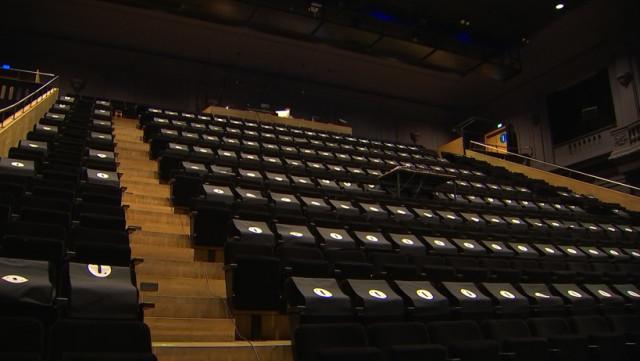 Liège: fermeture au public des 4 grandes salles de spectacle