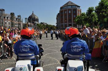 Liège : Il fonce sur deux motards de la police !