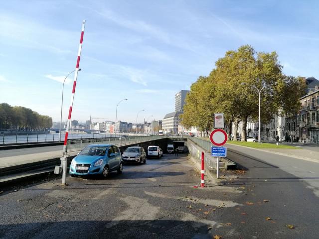 Liège : incendie dans un tunnel désaffecté