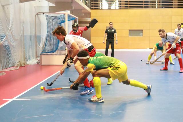 Liège : la coupe du monde de hockey indoor reportée