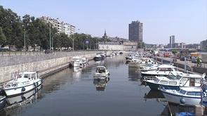 Liège : noyade au port des yachts