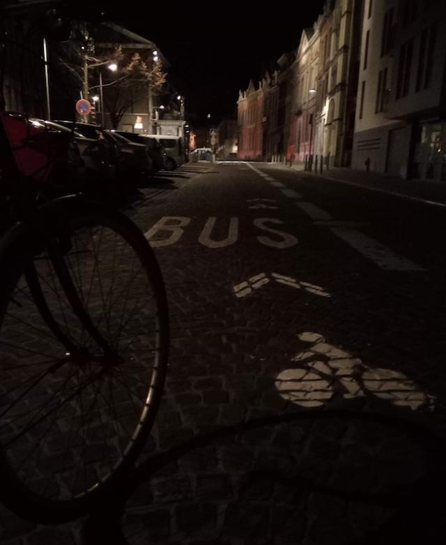 Liège : trois militants cyclistes interpellés