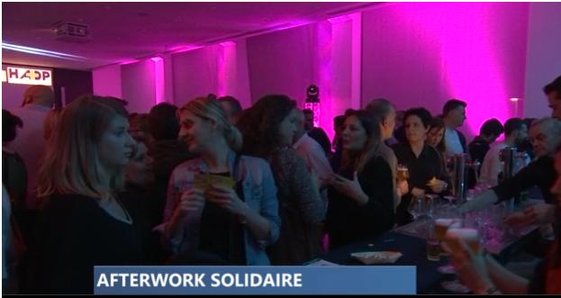Liège : un afterwork solidaire au Val Benoît