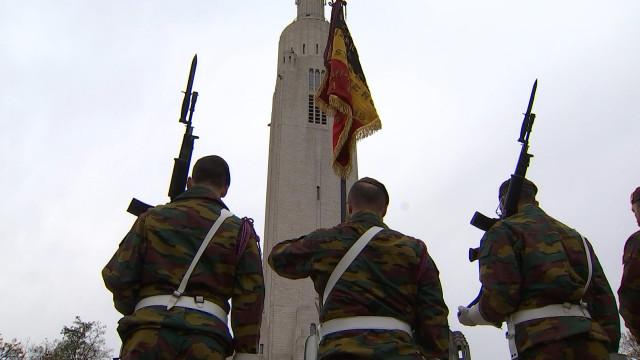 Liège : une journée de commémorations de l'Armistice