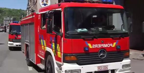 Liège : week-end portes ouvertes chez les pompiers